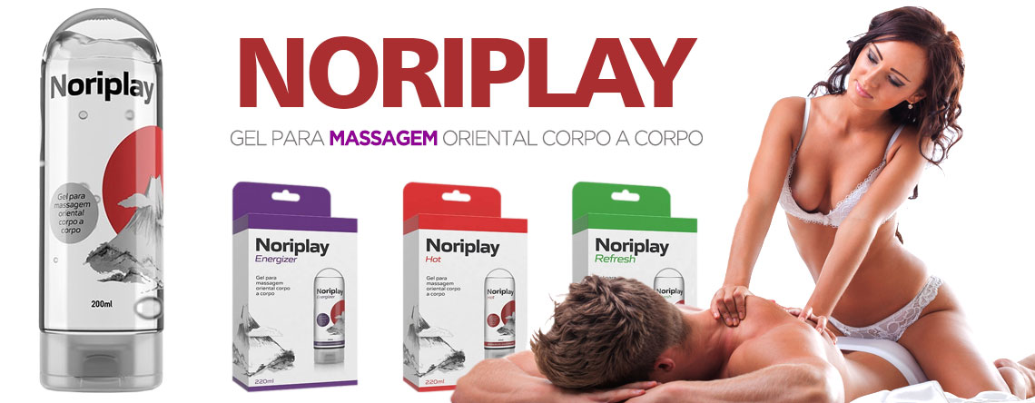 NORIPLAY - Gel para massagem oriental