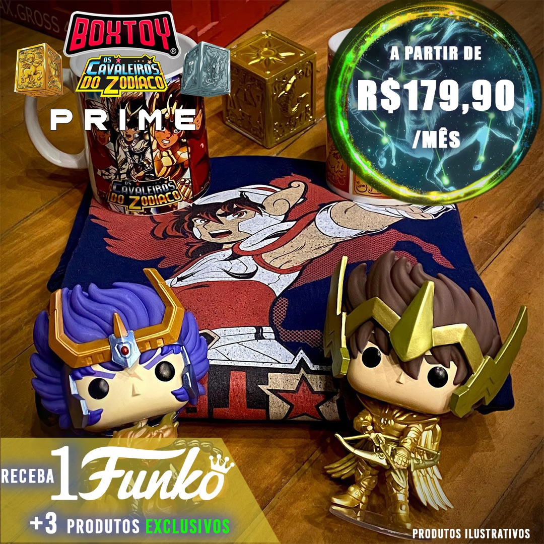 Box Prime - Cavaleiros do Zodiaco