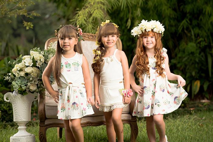 Moda infantil Pic Nic Nova Coleção