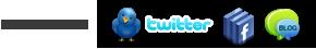 Redes Sociais: Twitter, Facebook e Blog