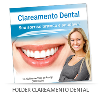 Folder clareamento dental