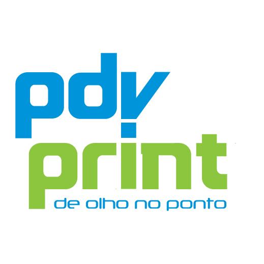 Logotipo da Gráfica PDV PRINT