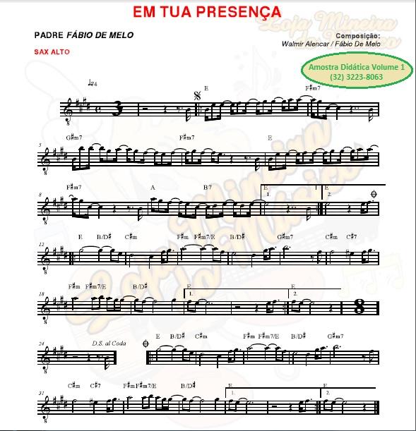 saxofone alto catolica partitura gratis exemplo loja mineira do musico sax alto