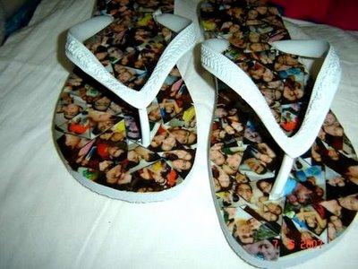 Chinelo Havaianas Personalizada Mosaico de Fotos