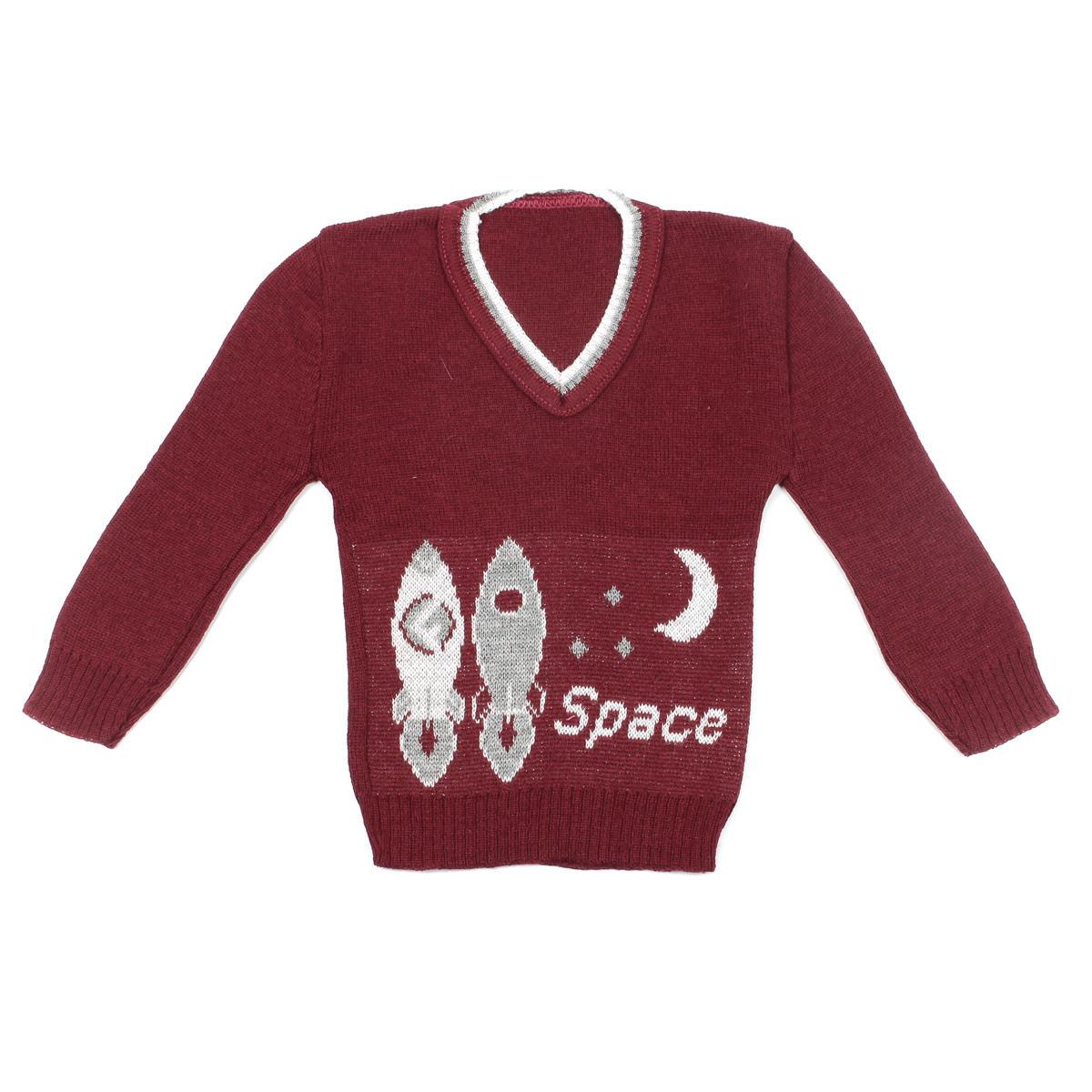 BLUSA INFANTIL GOLA V SPACE MENINO
