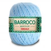 FIO PARA ARTESANATO BARROCO 6 MAX COLOR 885 TEX 200g - 226m - COR 2012 AZUL CLARO