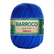 FIO PARA ARTESANATO BARROCO 6 MAX COLOR 885 TEX 200g - 226m - COR 2829 AZUL ESCURO