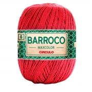 FIO PARA ARTESANATO BARROCO 6 MAX COLOR 885 TEX 200g - 226m - COR 3402 VERMELHO CIRCULO