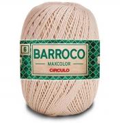 FIO PARA ARTESANATO BARROCO 6 MAX COLOR 885 TEX 200g - 226m - COR 7684 PORCELANA