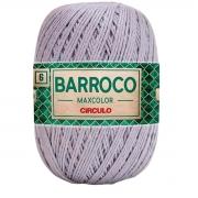 FIO PARA ARTESANATO BARROCO 6 MAX COLOR 885 TEX 200g - 226m - COR 8212 CROMADO