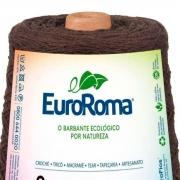 FIO PARA ARTESANATO EUROROMA 4 8/8 - COR MARROM