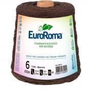 FIO PARA ARTESANATO EUROROMA 6 - 610m - COR MARROM