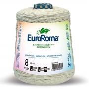 FIO PARA ARTESANATO EUROROMA 8 - 457m - COR CRU