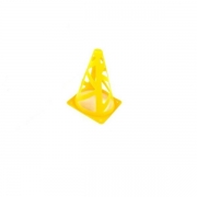 Cone Flexível 22 cm amarelo