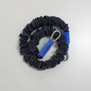 Elástico KA SPORTS Mosquetão Azul Forte 1 m
