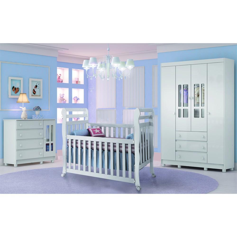 Quarto de beb� Alice - Carolina - Clik Baby - Quarto do bebe - M�veis infantil - M�veis infantis