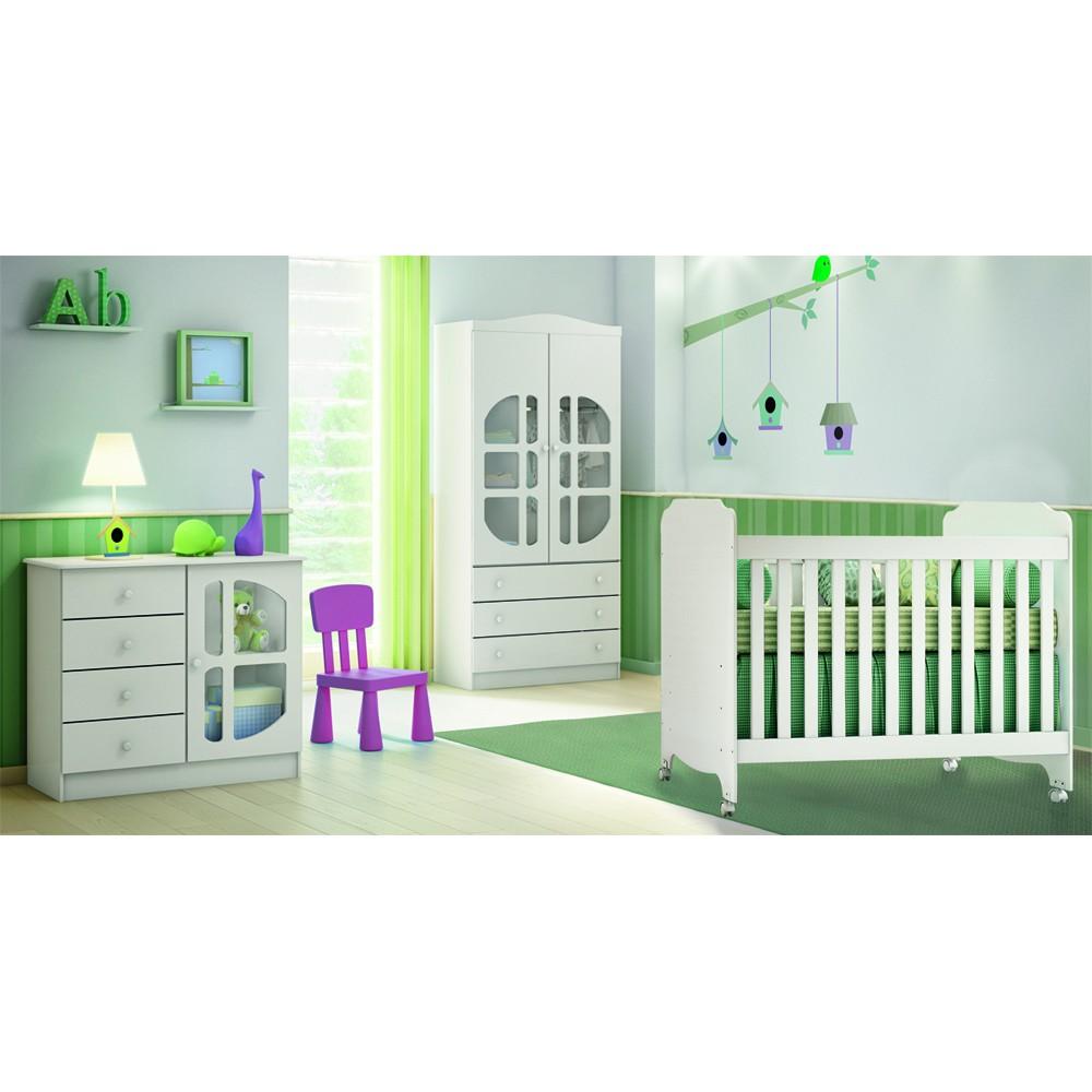 Quarto de beb� Luizzi | Carolina m�veis - Clik Baby - Clik Baby - Quarto do bebe - M�veis infantil - M�veis infantis