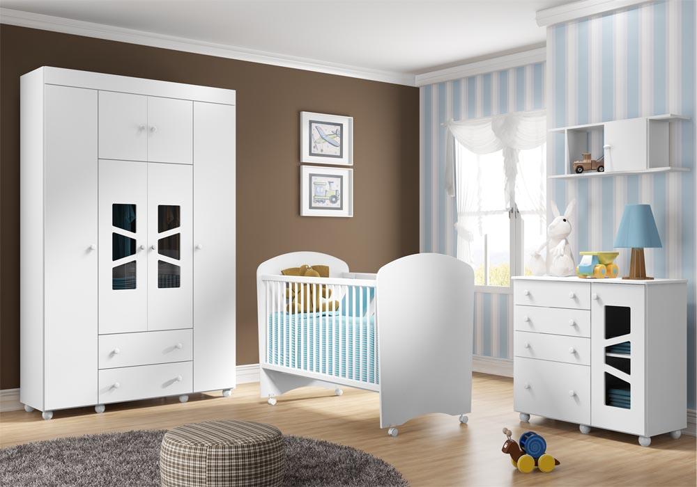 Quarto do beb� infantil Bombom Plus - Multim�veis  - Clik Baby - Quarto do bebe - M�veis infantil - M�veis infantis