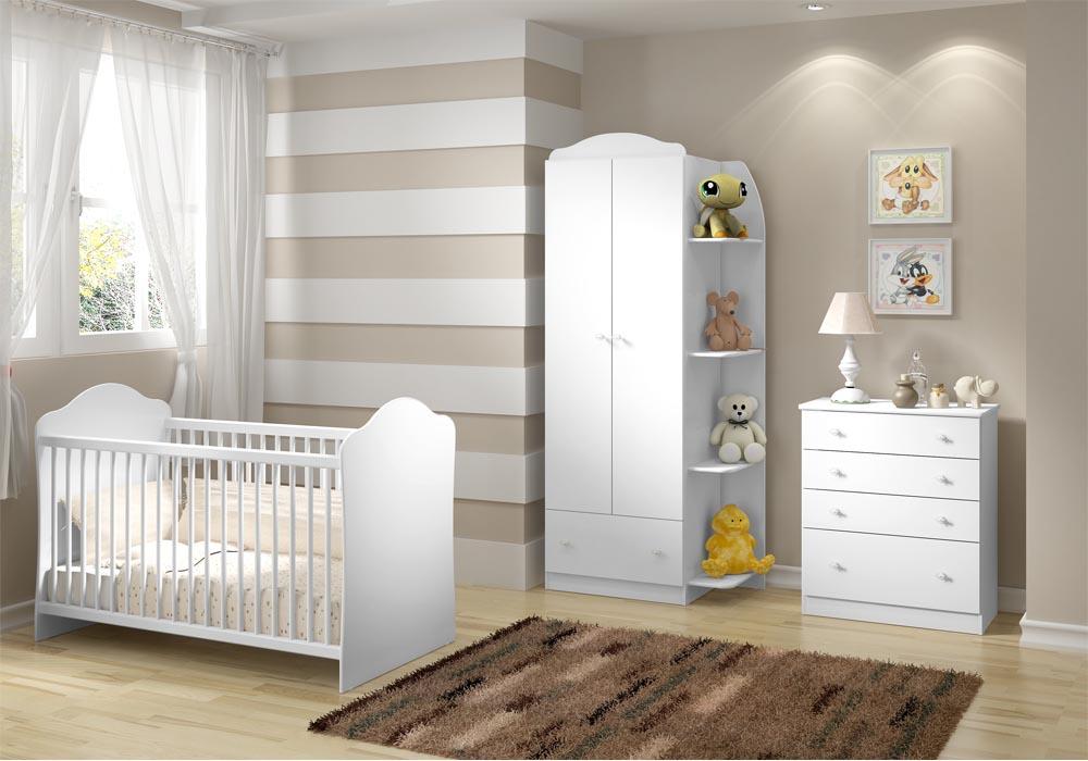 Quarto do beb� infantil Confete - Multim�veis - Clik Baby - Quarto do bebe - M�veis infantil - M�veis infantis