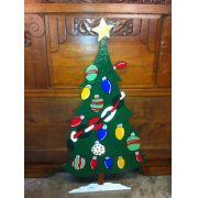 Arvore de Natal Artesanal 1,80 mts Altura