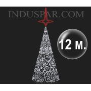 Árvore de Natal Gigante 12 Metros Modelo ORNATOS LED 220V