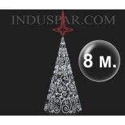 Árvore de Natal Gigante  8 Metros Modelo ORNATOS LED