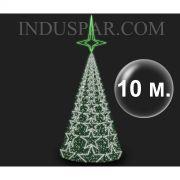 Árvore de Natal Gigante 10 Metros Modelo MADRID