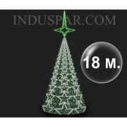 Árvore de Natal Gigante 18 Metros Modelo MADRID