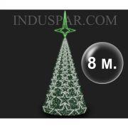 Árvore de Natal Gigante  8 Metros Modelo MADRID