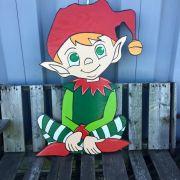 Elfo Meduim artesanal 80 cm Altura
