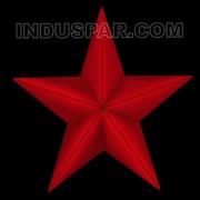 Estrela 5 Pontas 3D 2 Faces - MED 0,51X0,54