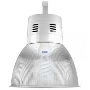 Lumin�ria Prism�tica 16 POL Acr�lico PS  com Alojamento Balde - Kit 300W com L�mpada Ec�nomica FLC 85W Espiral - INDUSPAR