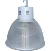 Lumin�ria Prism�tica 22 POL Acr�lico PS  com Alojamento Balde - Kit 390W com L�mpada Econ�mica 6U FLC - INDUSPAR