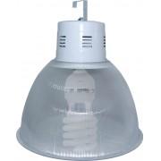 Lumin�ria Prism�tica 22 POL Acr�lico PS  com Alojamento Balde - Kit 390W com L�mpada Econ�mica FLC Espiral - INDUSPAR
