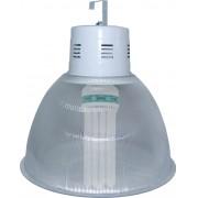 Lumin�ria Prism�tica 22 POL Acr�lico PS  com Alojamento Balde - Kit 440W com L�mpada Econ�mica FOXLUX 110W Espiral - INDUSPAR