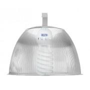 Lumin�ria Prism�tica 16 POL Acr�lico PS  com Alojamento Prato e Gancho - Kit 300W com L�mpada Ec�nomica FLC 85W Espiral - INDUSPAR