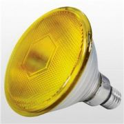 LAMP HAL PAR 38  80W AMARELO 127V