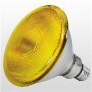 LAMP HAL PAR 38  80W AMARELO 220V