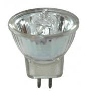 L�mpada ECOLUME Dicr�ica Hal�gena 20W Bipino Com lente - INDUSPAR