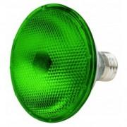 L�mpada ECOLUME Par 38 Verde Hal�gena 80W - INDUSPAR