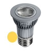 Lâmpada LED  4,5W Branco Morno 3000K Bivolt E27 (Prata)