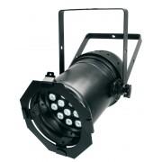LED TEK CANH�O PAR 64-18 TRI BLACK RGB DMX - INDUSPAR