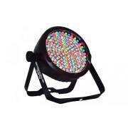 LED TEK FLAT PAR 64 SLIM RGB DMX - INDUSPAR