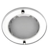 Lumin�ria de Embutir 110MM em Aluminio, Funil Pequeno para 1 l�mpada de 15W