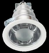 Lumin�ria de Embutir 170MM em Aluminio, Funil Grande para 1 l�mpada de 25W - WDESIGN