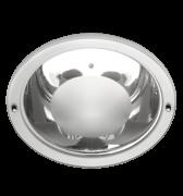Lumin�ria de Embutir de 230MM em Aluminio, Redonda, para 2 L�mpadas de 25W, Soquete 4 Pinos
