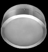 Luminária de Sobrepor de 240MM em Aluminio, Redonda, para 2 Lâmpadas de 25W, Soquete E27 - WDESIGN