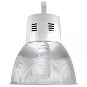 Lumin�ria Prism�tica 16 POL Acr�lico PS  com Alojamento Balde - Kit 340W com L�mpada Ec�nomica ALUMBRA 85W Espiral - INDUSPAR