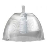Lumin�ria Prism�tica 16 POL Acr�lico PS  com Alojamento Prato e Gancho - Kit 340W com L�mpada Ec�nomica ALUMBRA 85W Espiral - INDUSPAR