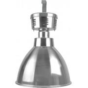 Lumin�ria Prism�tica 16 POL Alojamento Ta�a Difusor Aluminio - com grade - INDUSPAR